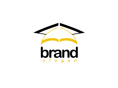 4707, logo, design, yellow, black, education, student, school, high, college,