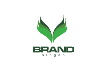 5709, logo, design,  green, eco, bio, ecological, flower, plant, agriculture, landscaping, flower, leaf,