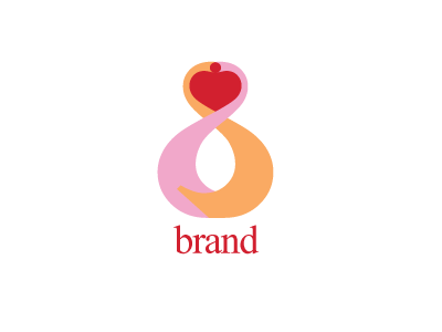 6908, logo, design , red, pink, orange, heart, elegant, decoration, erotic, classic, home, textiles, fashion, expo, clothing, beauty, salon, esthetics, spa, dating, wedding,