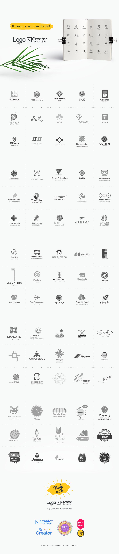 Logos made with Logo[+]Creator Vol.1 . Create your own logo with Logo[+]Creator.