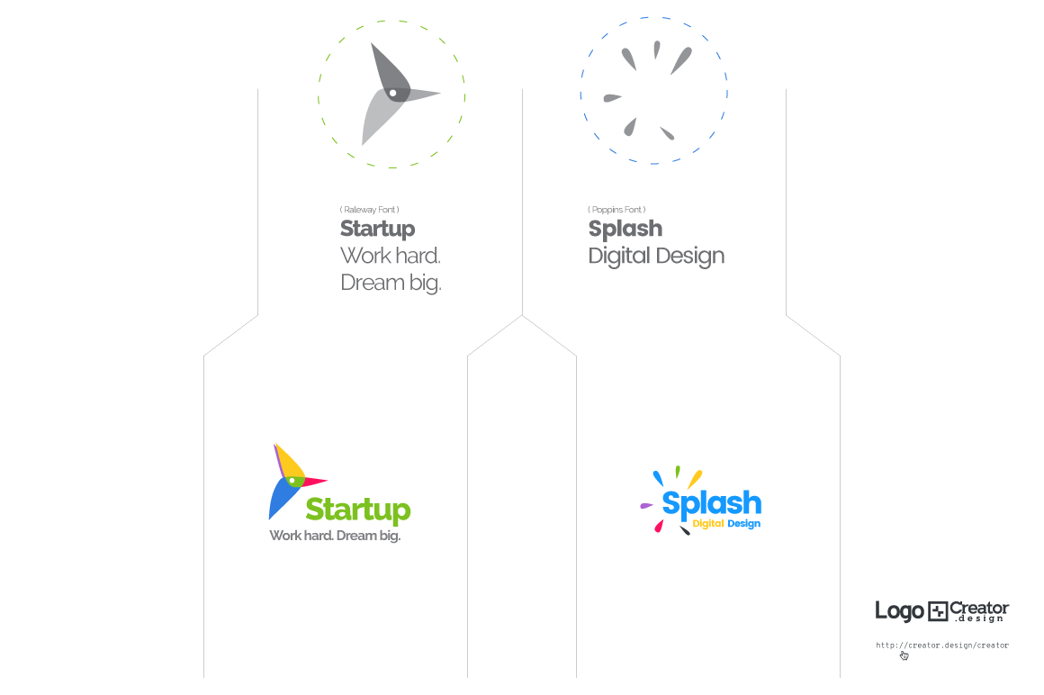 Logo[+]Creator. How it works. Create The Logo Design.