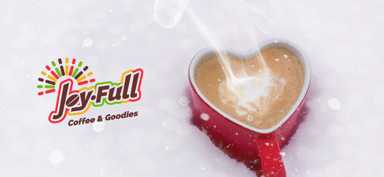 joyfull coffee identity