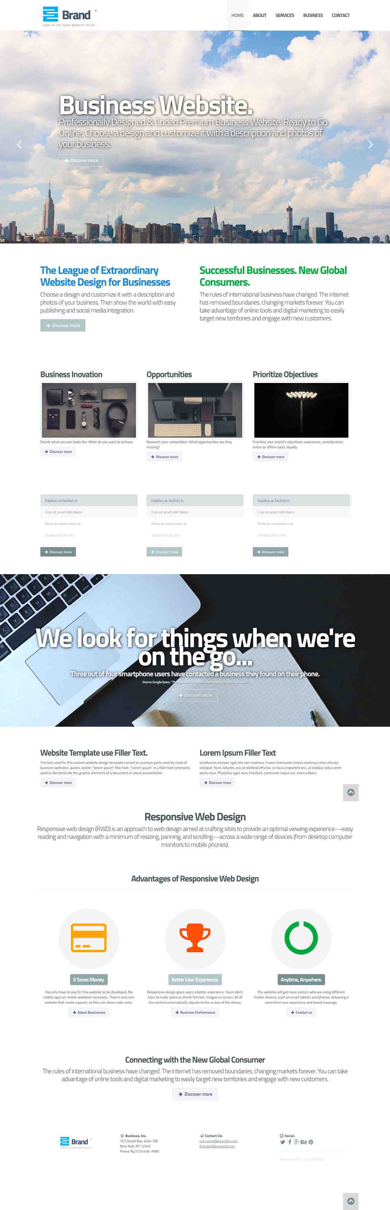 Responsive Web Design Adverion